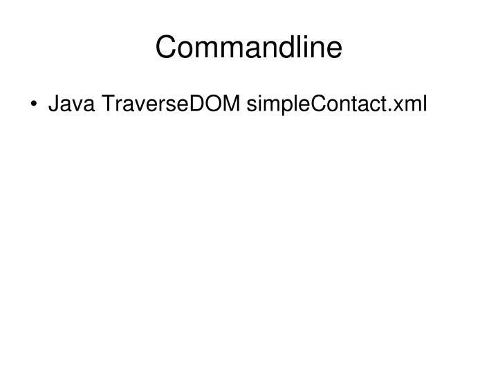 Commandline