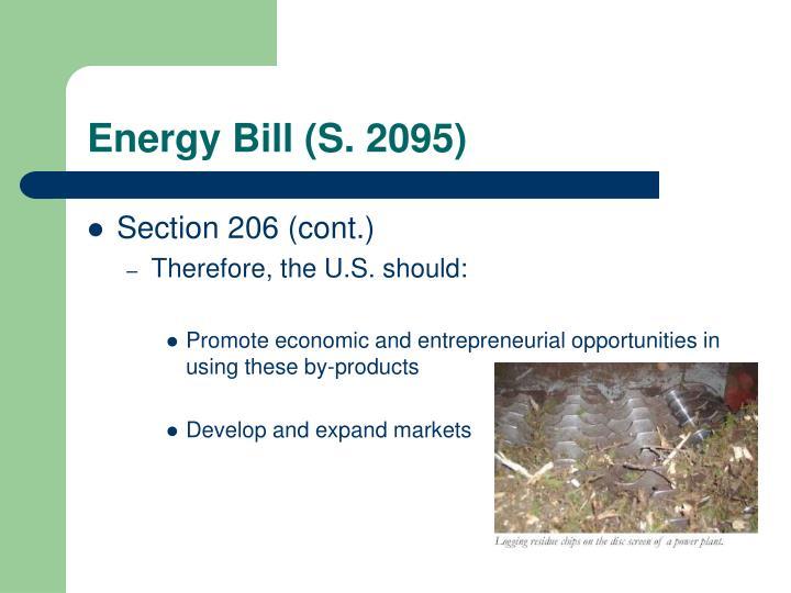 Energy Bill (S. 2095)