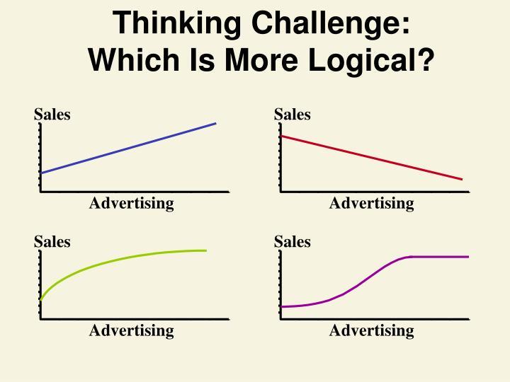 Thinking Challenge: