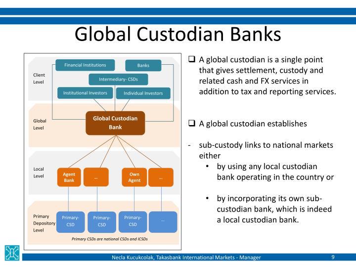 Global Custodian Banks