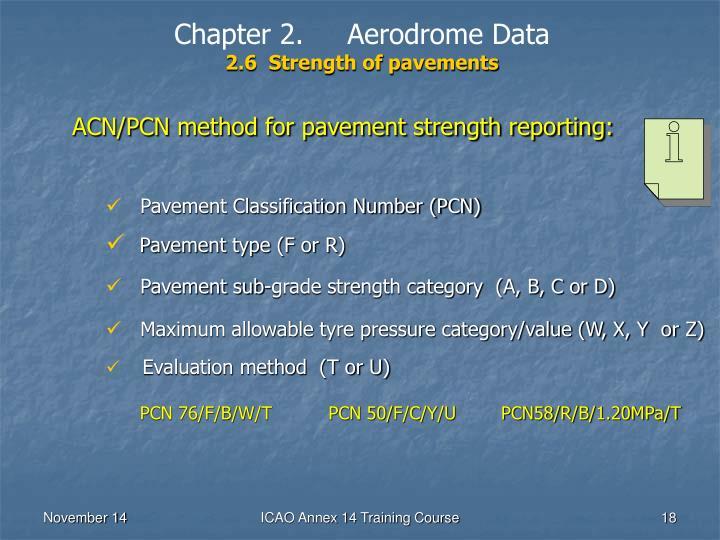 Chapter 2.     Aerodrome Data