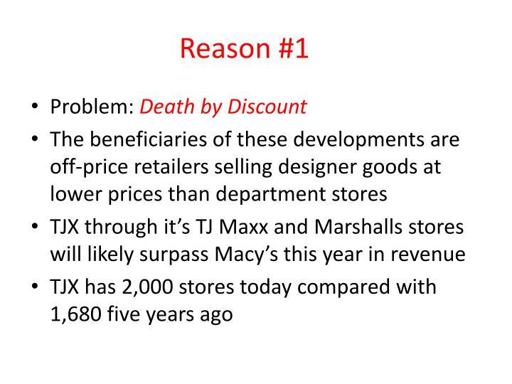 Reason #1