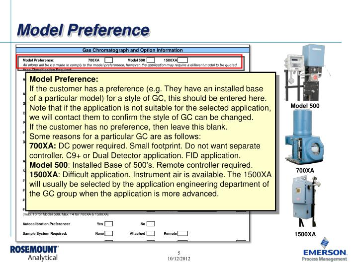 Model Preference