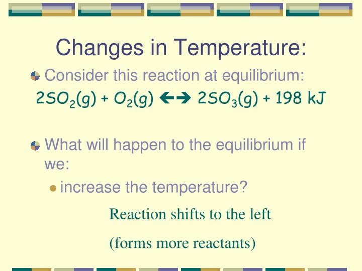 Changes in Temperature: