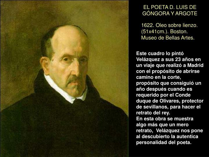 EL POETA D. LUIS DE GÓNGORA Y ARGOTE