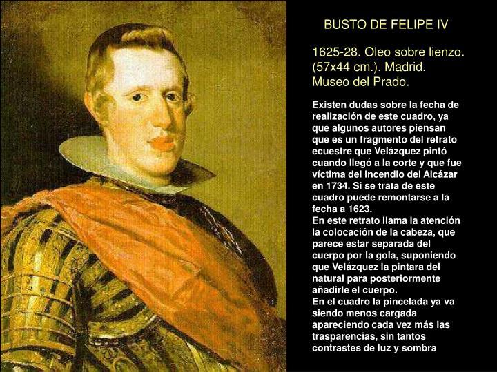BUSTO DE FELIPE IV