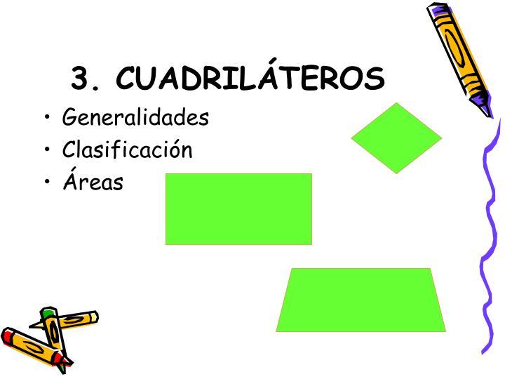 3. CUADRILÁTEROS