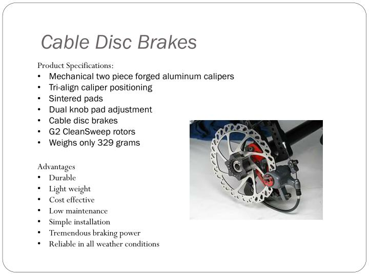 Cable Disc