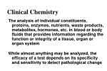 clinical chemistry1