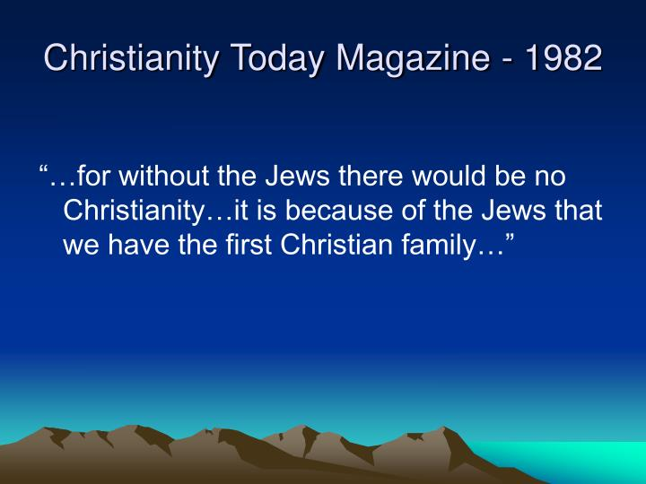 Christianity Today Magazine - 1982
