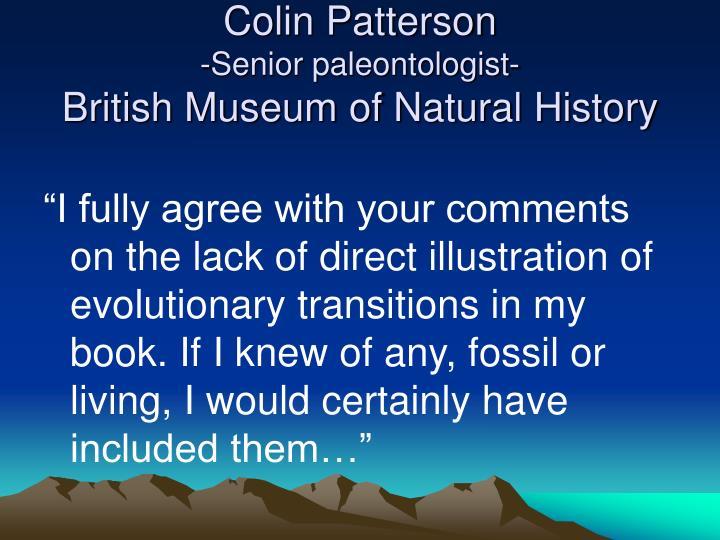 Colin Patterson