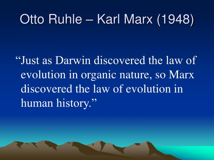 Otto Ruhle – Karl Marx (1948)