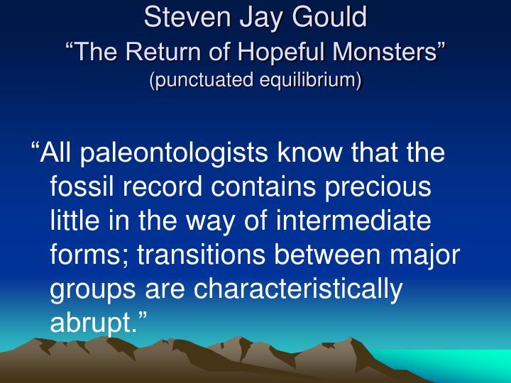 Steven Jay Gould