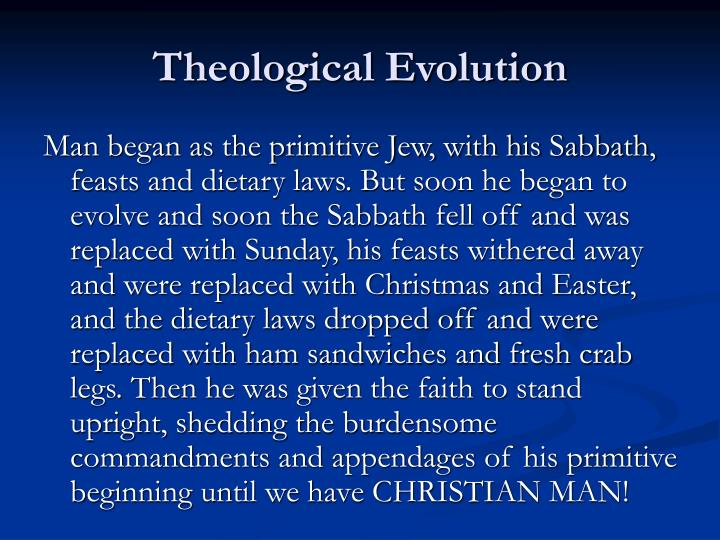 Theological Evolution