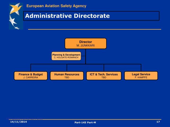 Administrative Directorate