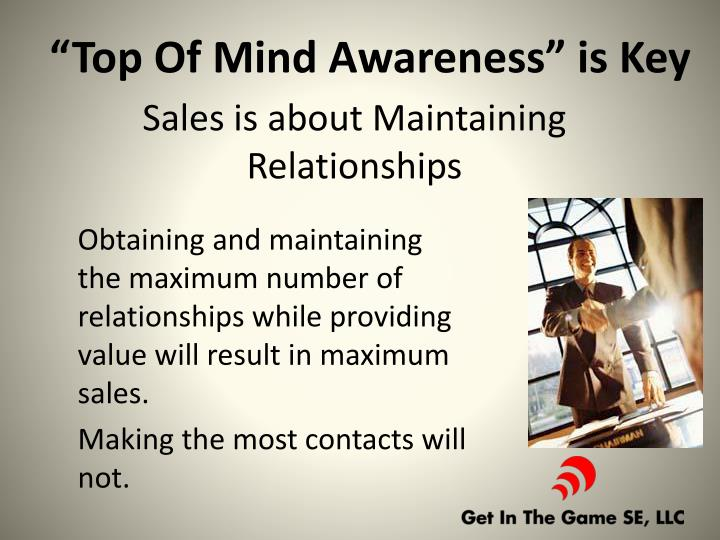Sales is