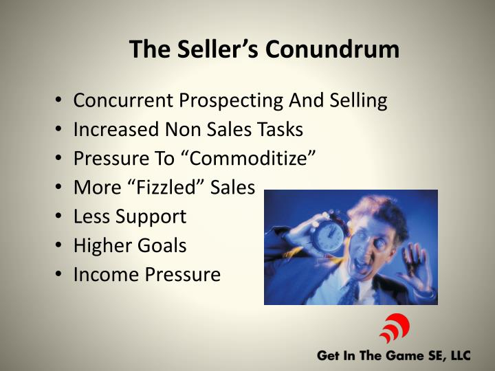 The Seller's Conundrum