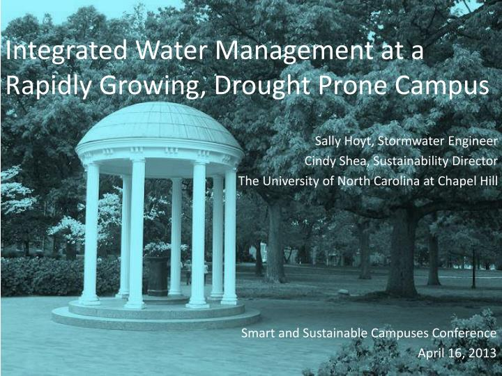 Integrated Water Management at a