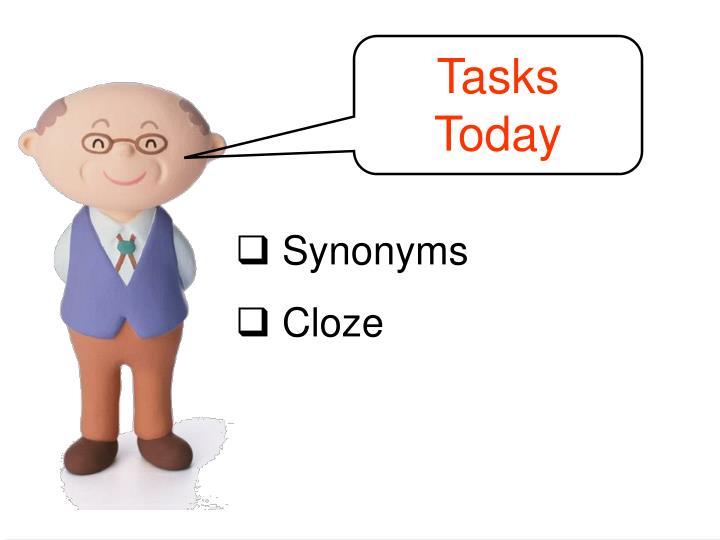 Tasks Today