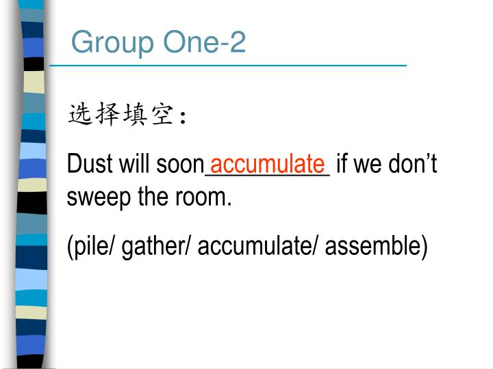 Group One-2