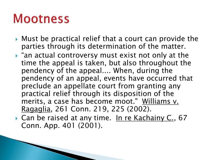 Mootness