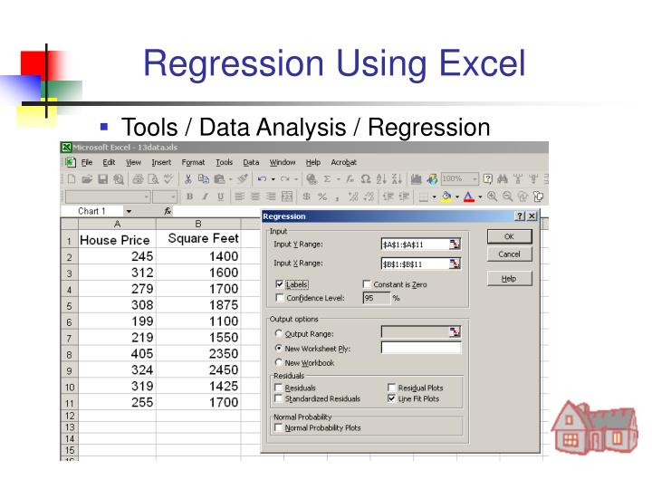 Regression Using Excel