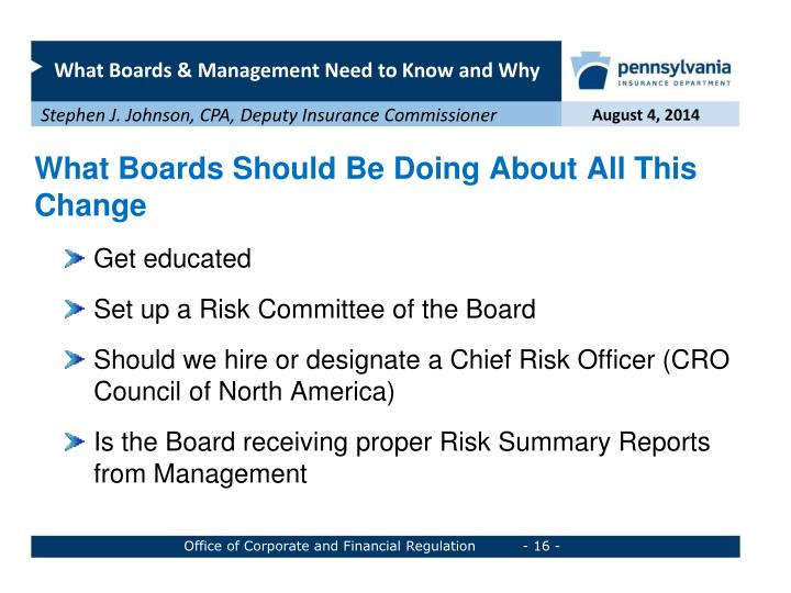 What Boards Should Be Doing About All This Change