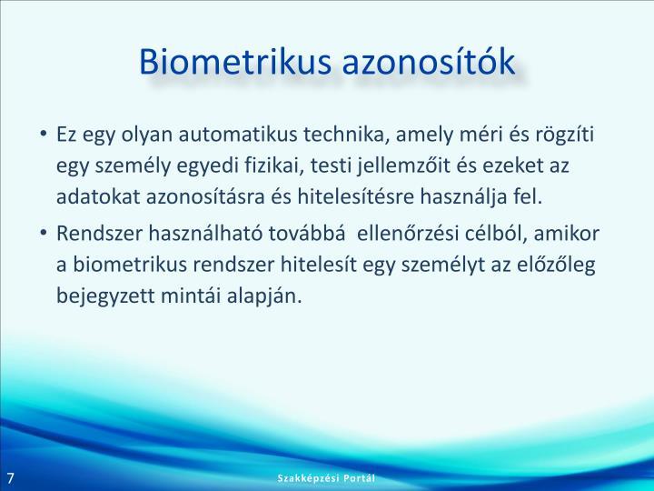 Biometrikus