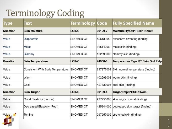 Terminology Coding