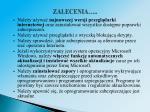 zalecenia1