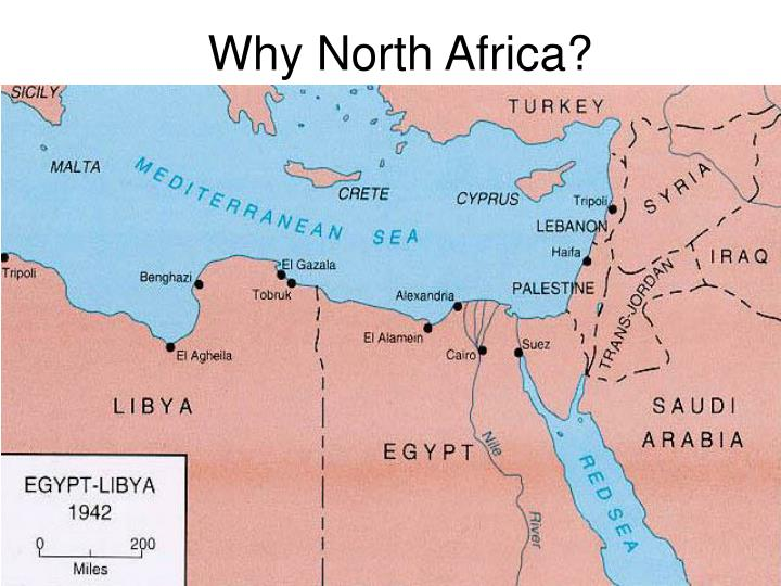 Why North Africa?