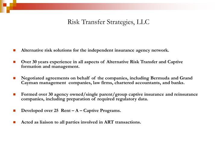 Risk Transfer Strategies, LLC