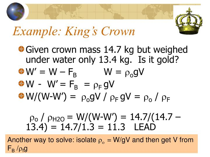 Example: King's Crown