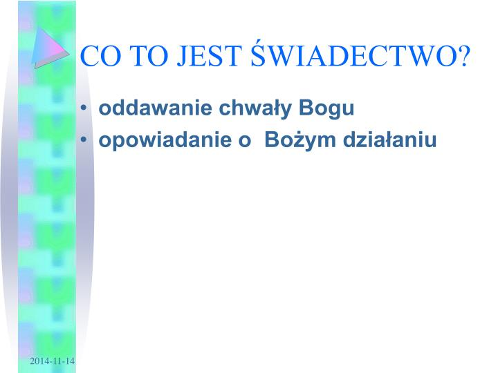 Co to jest wiadectwo