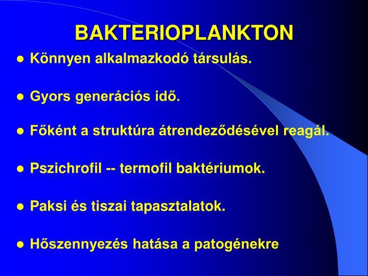 BAKTERIOPLANKTON