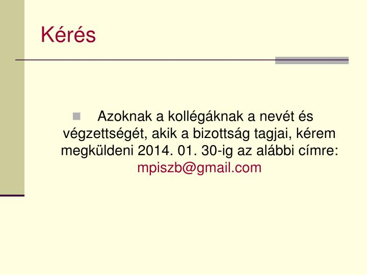 Kérés