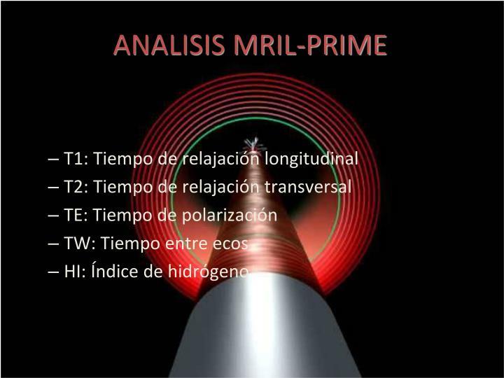 ANALISIS MRIL-PRIME