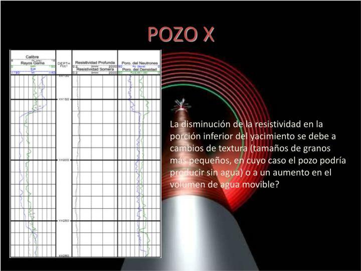 POZO X