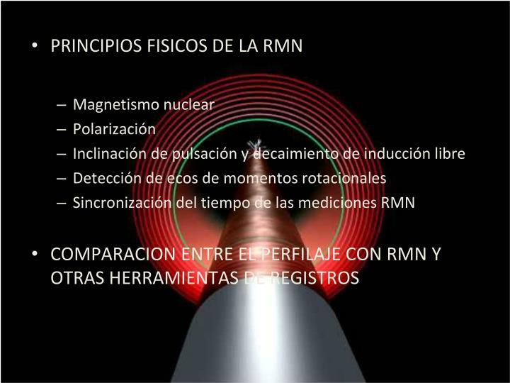PRINCIPIOS FISICOS DE LA RMN