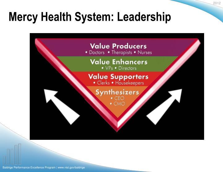 Mercy Health System: Leadership