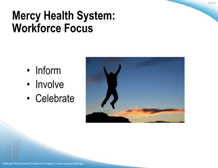 Mercy Health System:
