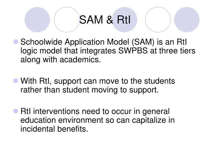 SAM & RtI