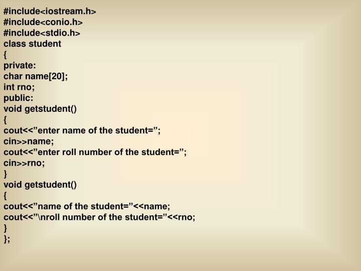 #include<iostream.h>