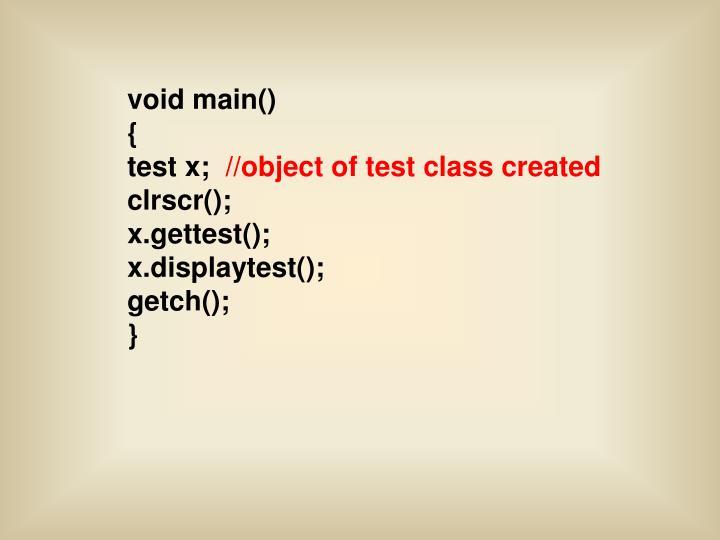 void main()