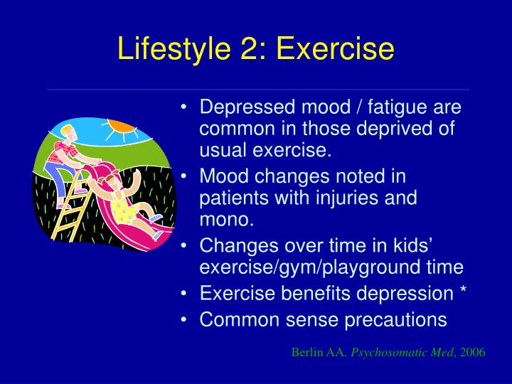 Lifestyle 2: Exercise