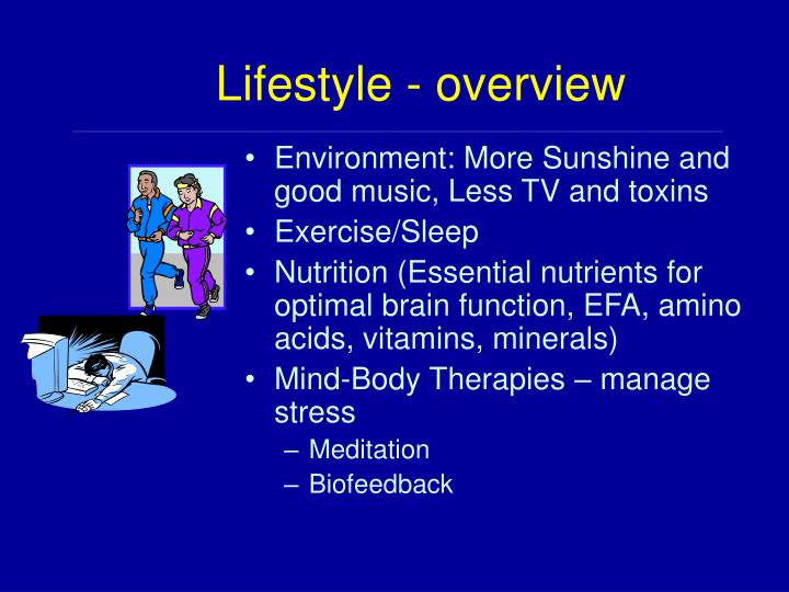 Lifestyle - overview