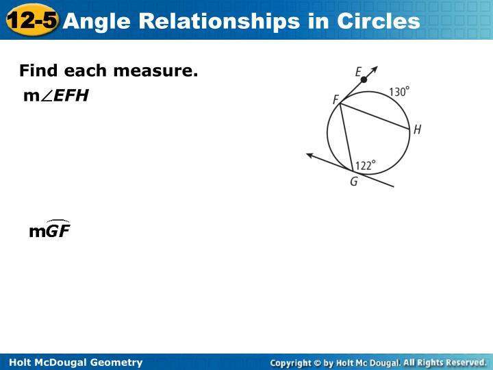 Find each measure.
