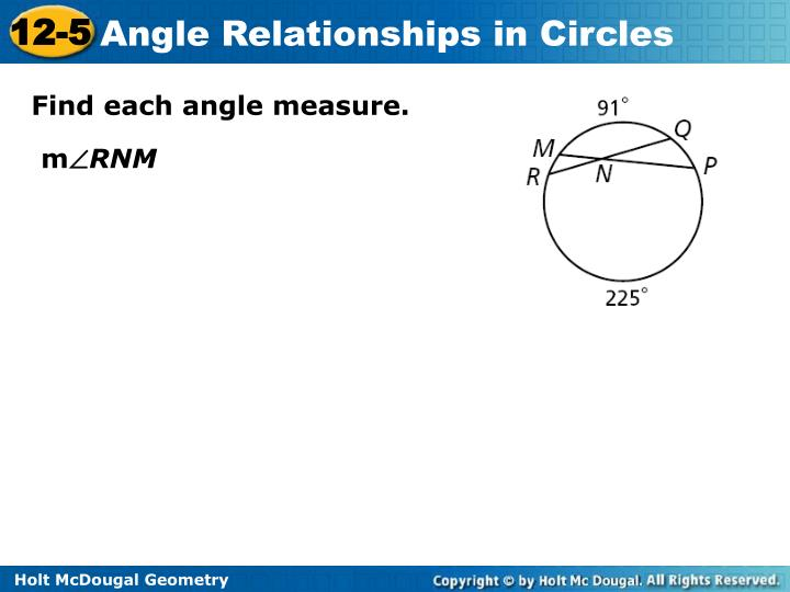 Find each angle measure.