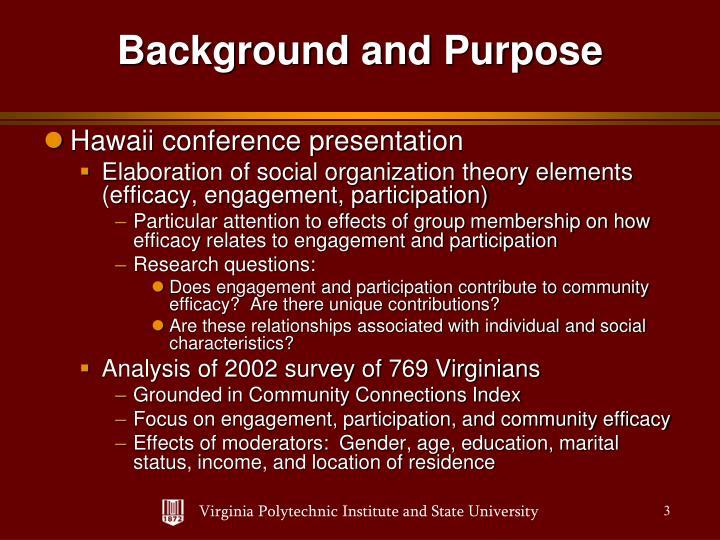 Hawaii conference presentation