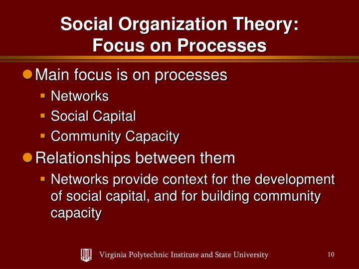 Main focus is on processes